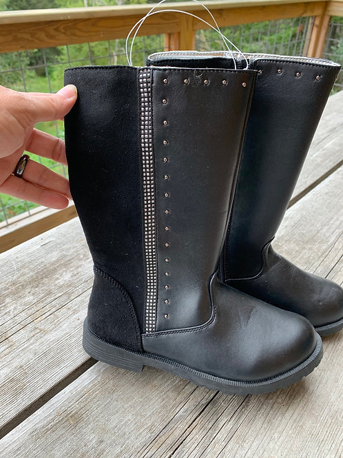Size 3 Tall Black Boot