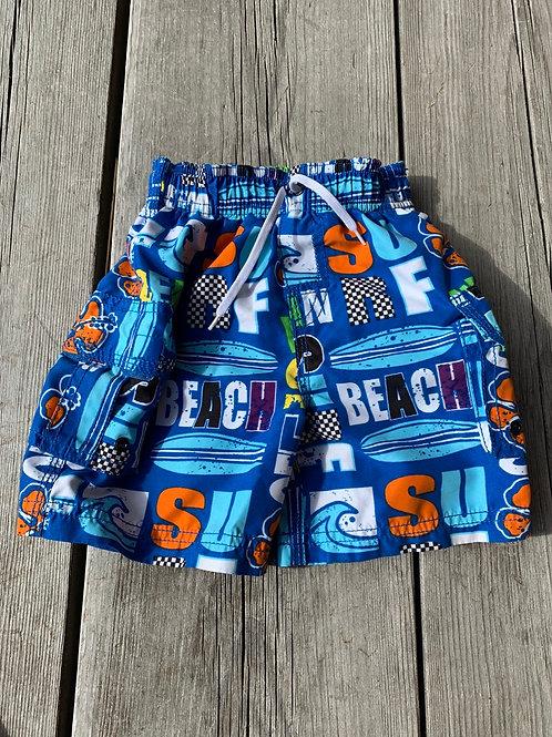 Size 24m Beach Swim Trunks