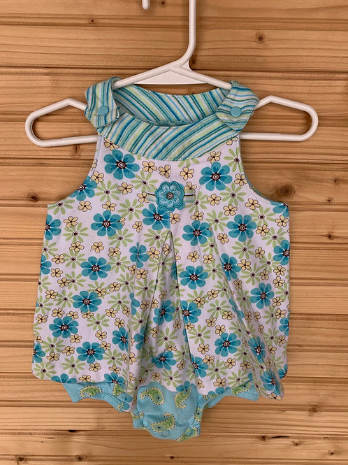 Size 18m CARTER'S Summer Cotton Dress Jumper, Used