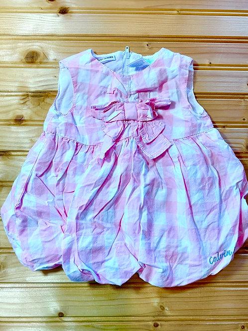 Size 0-3m CALVIN KLEIN Pink Checker Dress
