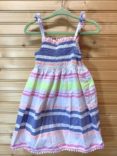 Size 2T Striped Summer Dress