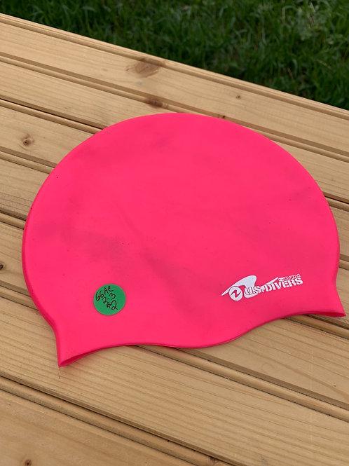 Size Youth Pink Swim Cap
