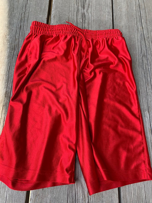 Size 10/12 Kids Red Shorts