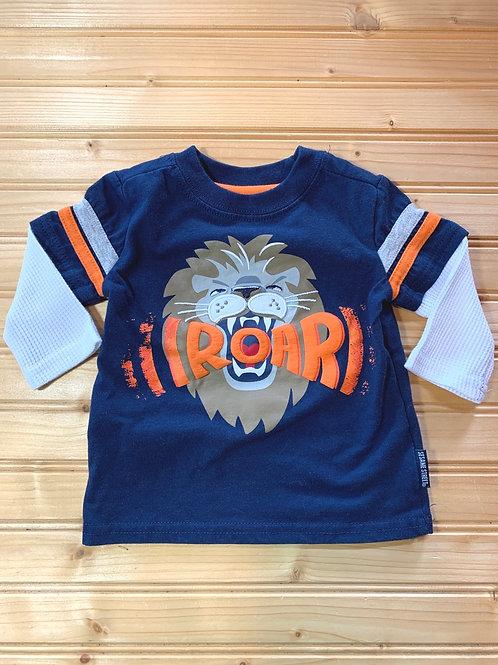Size 3-6m Lion Road Shirt