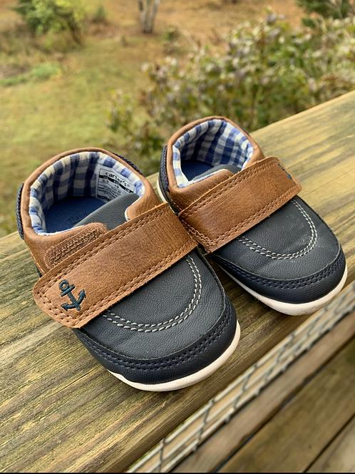 Size 3.5 Infant CARTER'S Boat Shoes