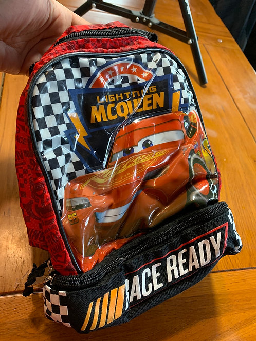 DISNEY CARS Lightning McQueen Insulated Lunch Bag