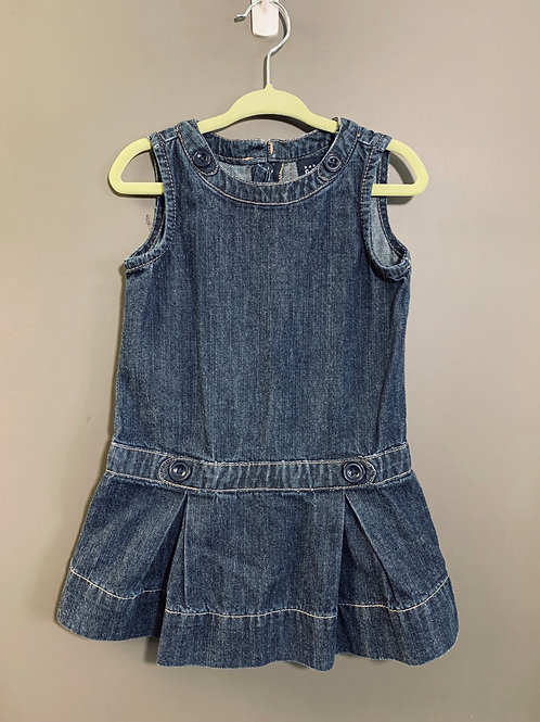 Size 2T BABY GAP Denim Dress