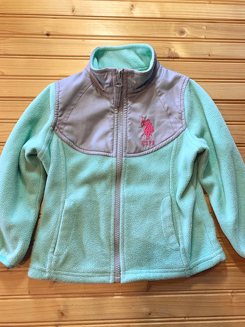 Size 2T US POLO Mint and Grey Fleece