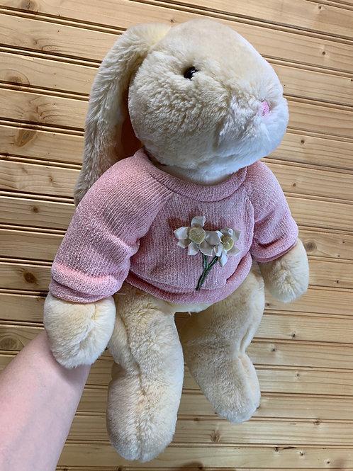 Large Easter Bunny Stuffed Animal, Used