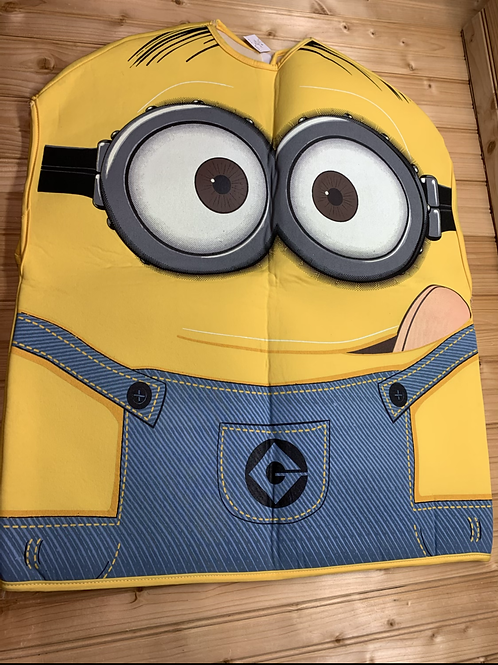 Size 8 and up? Foam MINION Costume