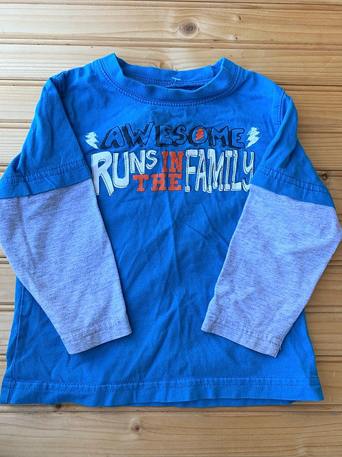 Size 18m Awesome Runs in Family Shirt