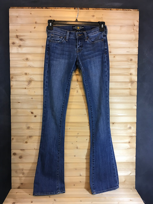 Size 0 (25) LUCKY JEANS Charlie Baby Boot Jeans