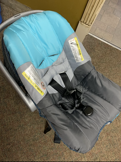 EVENFLO Blue and Grey Infant Car Seat