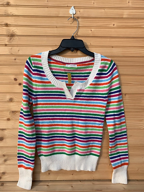 Size S Young Adult AEROPOSTALE Colorful Stripes Knit Sweater