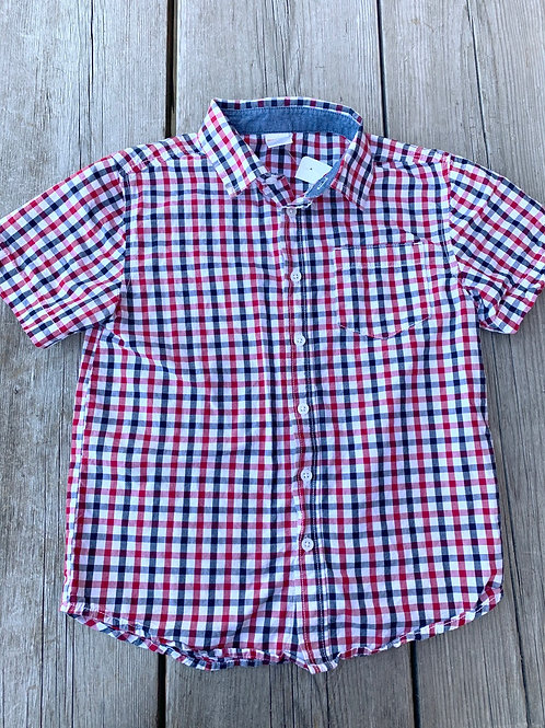 Size 7/8 Plaid Shirt