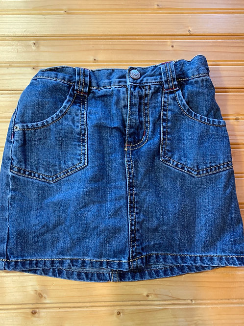 Size 6 GYMBOREE Jean Skirt Skort, Used