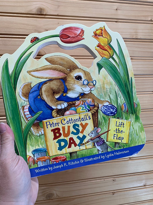 """Peter Cottontail's Busy Day"", Used Book"