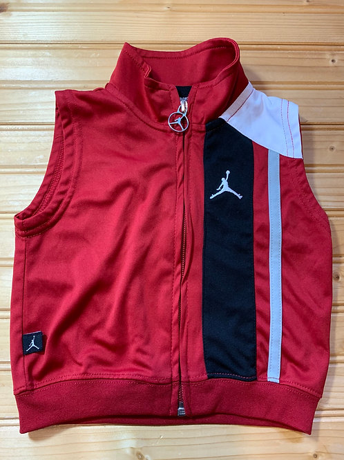 Size 6-9m AIR JORDAN Red Vest, Used