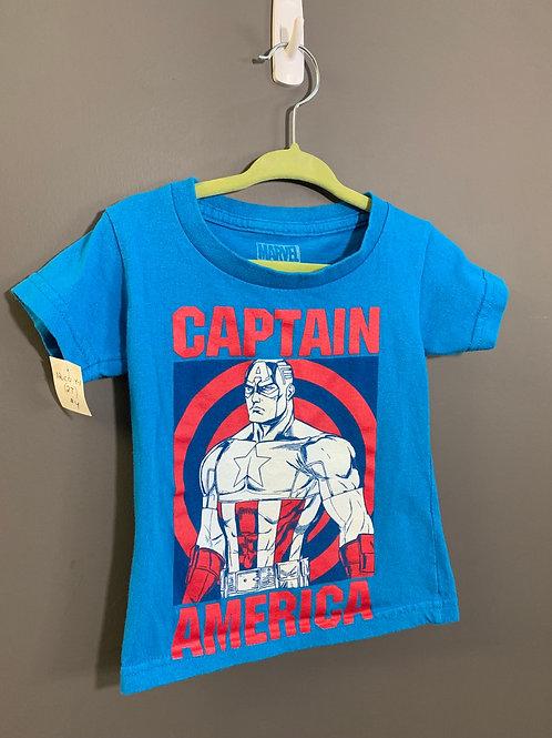 Size 2T MARVEL Captain America T-Shirt