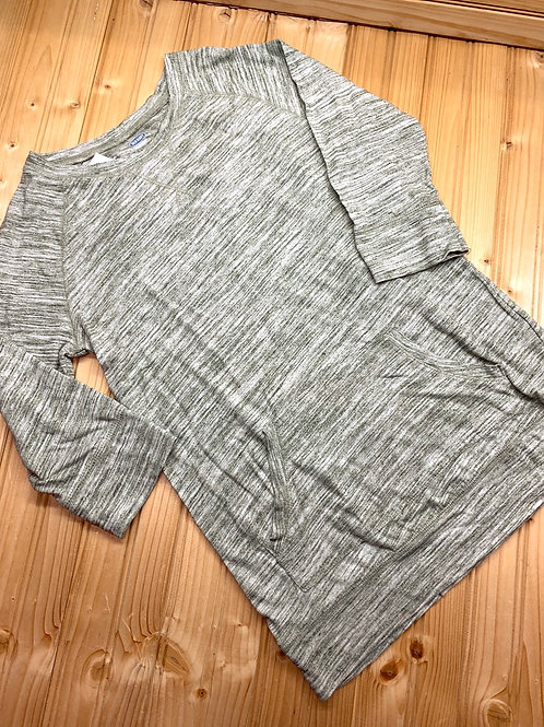 Size 10/12 OLD NAVY Grey 3/4 Sleeve Top