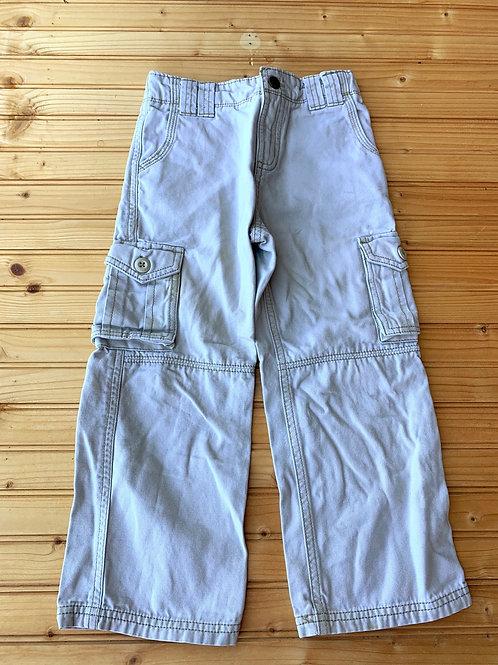 Size 5T Oatmeal Cargo Pants