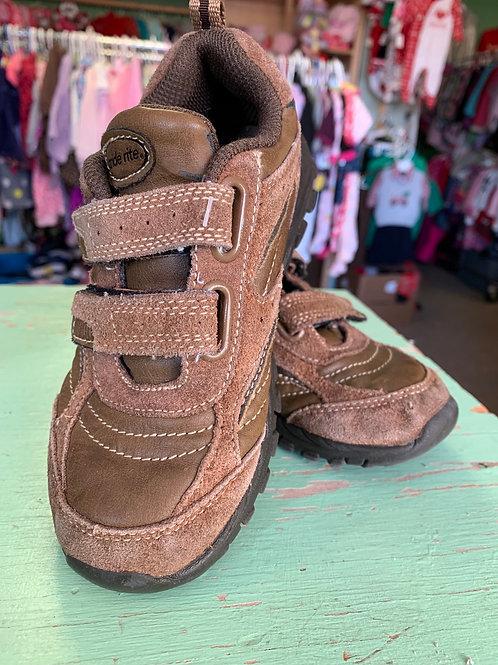 Size 11 Kids STRIDE RITE Brown Trekking Boot