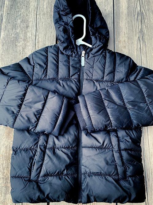 Size 8 WONDER NATION Black Puff Jacket
