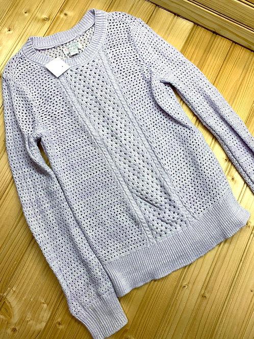 Size 7/8 CHILDREN'S PLACE Lavender Knit Sweater
