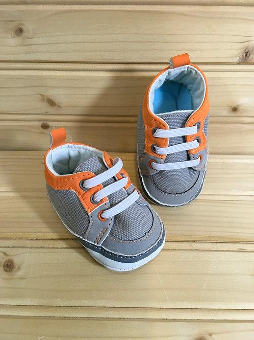 Size Newborn Grey Infant Shoes