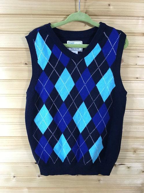 Size 3T Kids CHILDREN'S PLACE Blue Argyle Vest