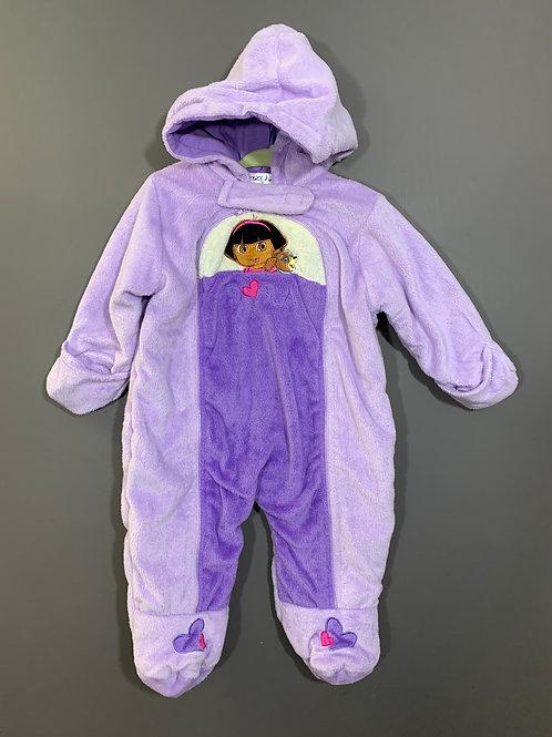 Size 12m Dora the Explorer Purple Bunting, Used