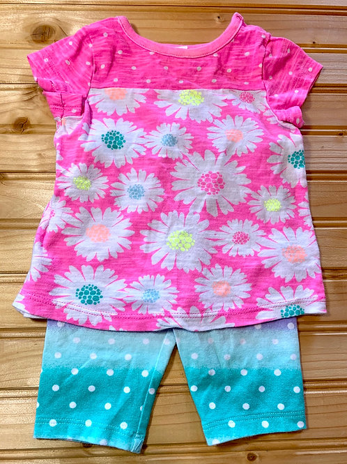Size 3m 2-pc Pastel Summer Outfit