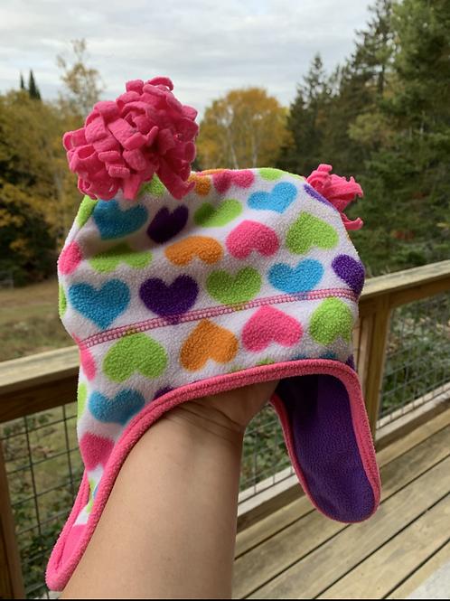Size OSFM Hearts Hat