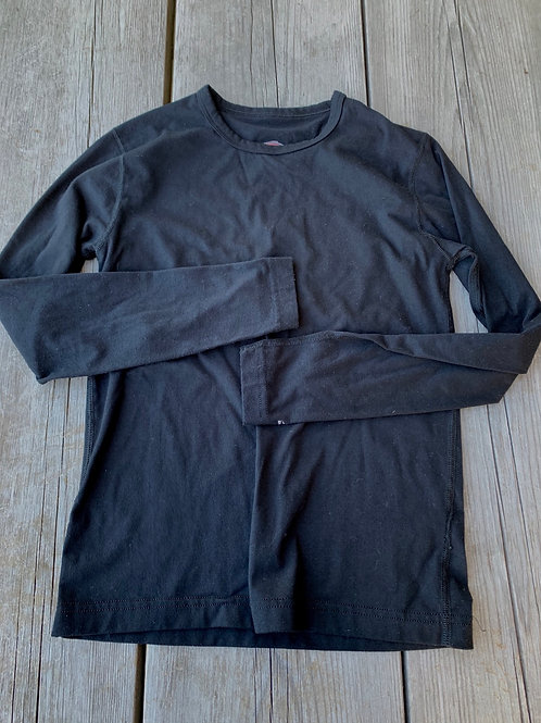 Size L Youth DUOFOLD Black Shirt
