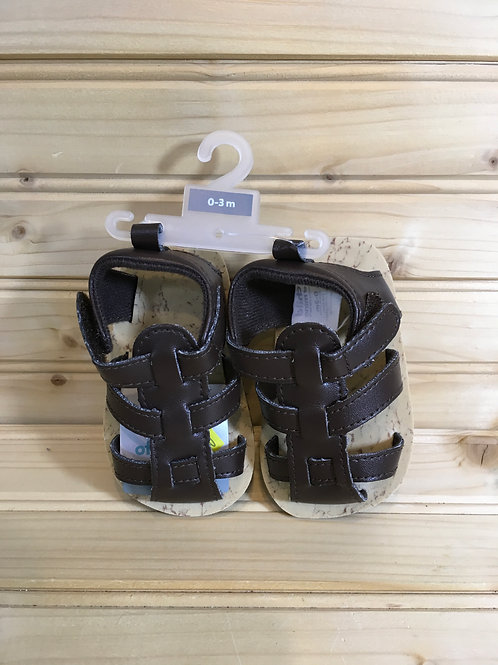 Size 0-3m Brown Infant Sandals