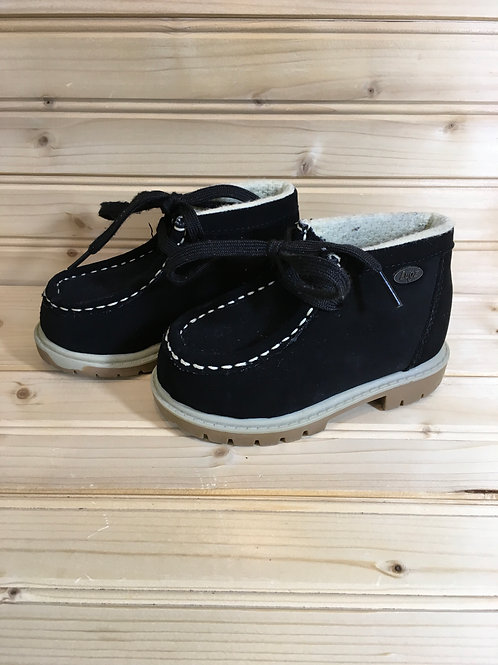 Size 6 Toddler LUGZ Black Suede Boots