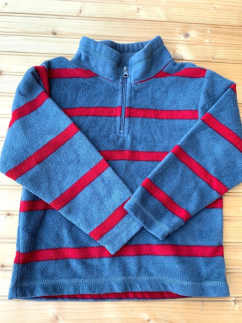Size 4 CHILDREN'S PLACE Grey and Red Fleece Pullover