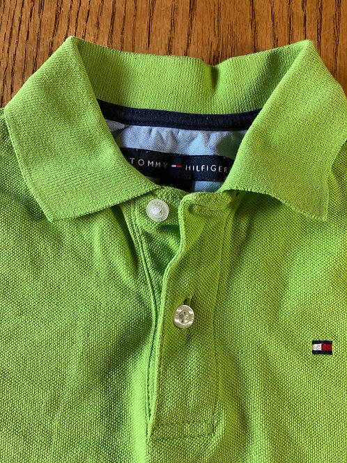 Size 8/10 TOMMY HILFIGER Green Short Sleeve Polo