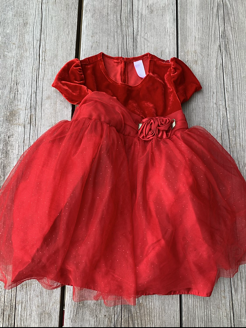 Size 4T GEORGE Red Party Dress