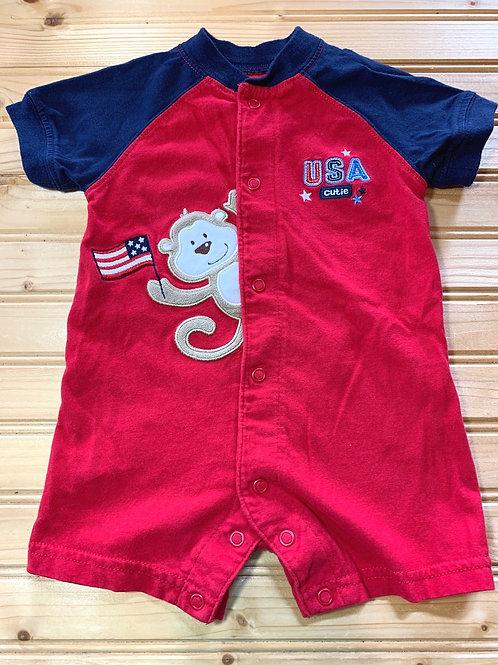 Size 3m Patriotic Monkey Jumper