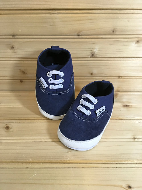 Size 3 Baby, Navy Blue Shoes