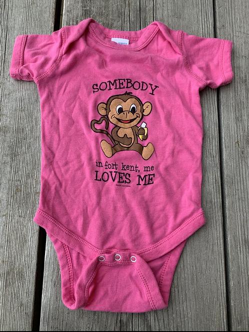 Size 6m Fort Kent Monkey Onesie