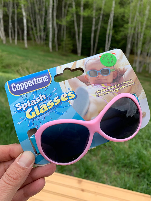 Infant/Toddler New Pink Sunglasses front
