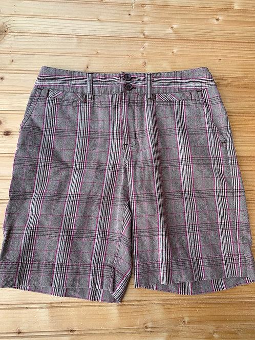Size 14 Girls Plaid Shorts
