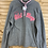 Thumbnail: Size 14 OLD NAVY Grey and Pink Fleece, Used