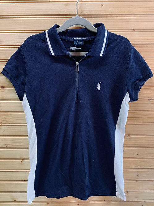 Size XS RALPH LAUREN Navy Sport Polo, Used