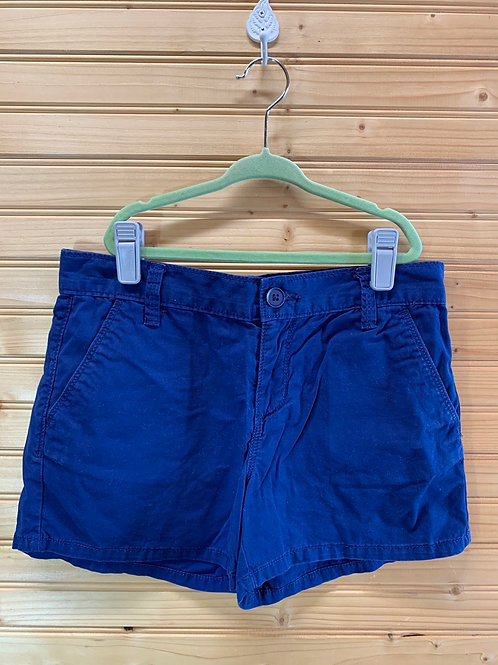 Size 12R OLD NAVY Navy Blue Shorts, Used