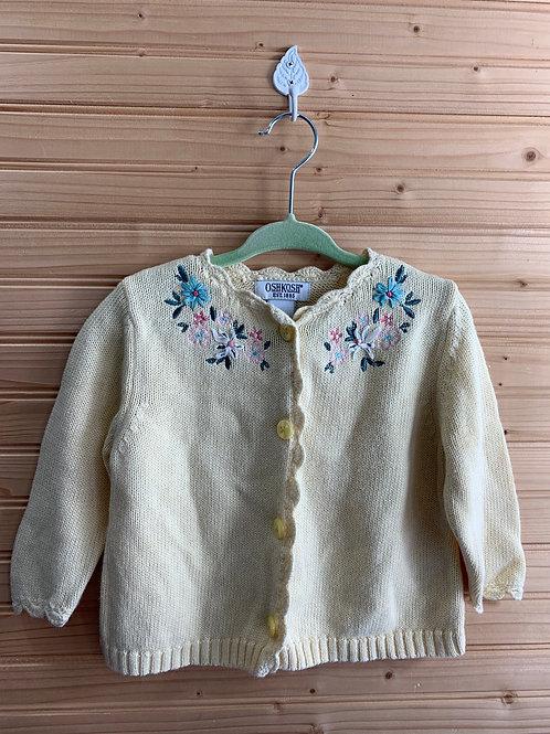 Size 18m OSHKOSH Vintage Cardigan in Pale Yellow