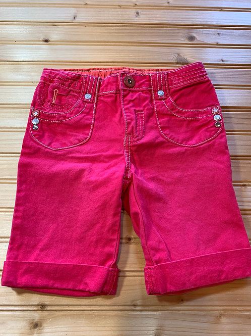 Size 6 FADED GLORY Pink Jean Shorts, Used