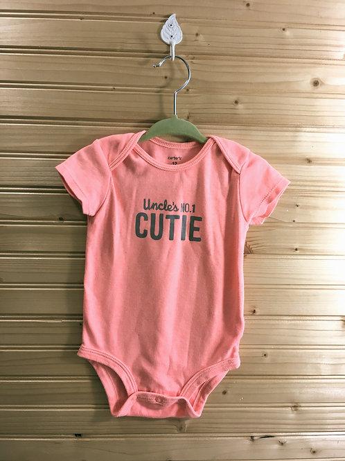 Size 12m CARTER'S Uncle's No. 1 Cutie Onesie